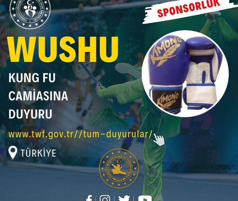 Wushu Kung Fu Camiasına Duyuru
