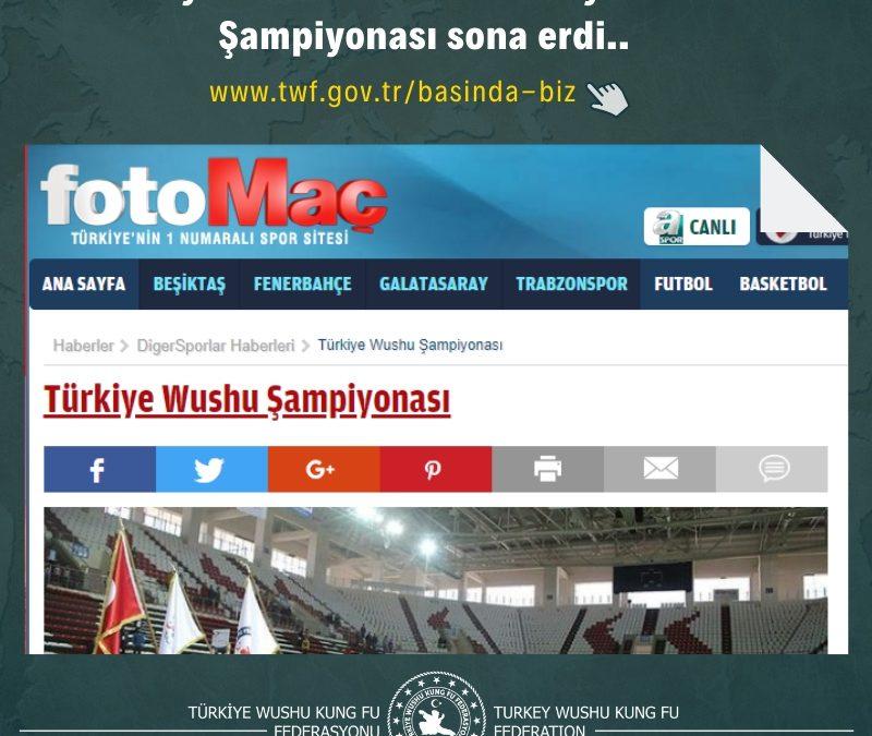 Antalya'da düzenlenen Türkiye Wushu Şampiyonası sona erdi..